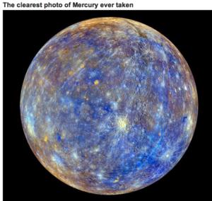 Mercury space shot
